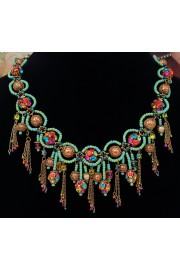 Michal Negrin Multicolor Orbs Necklace