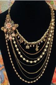 Michal Negrin Portobello Layered Necklace