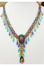 Michal Negrin Victorian Spring Necklace