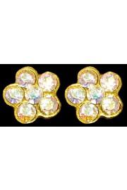 Michal Negrin Aurora Borealis Crystals Mini Stud Earrings