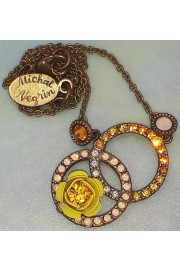 Michal Negrin Yellow Infinity Pendant Necklace
