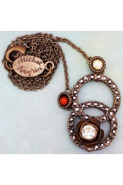 Michal Negrin Infinity Pendant Necklace