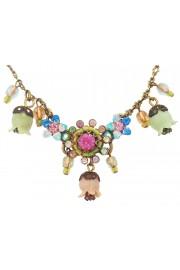 Michal Negrin Pastel Bells Necklace