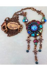 Michal Negrin Jewel Tones Pendant Necklace