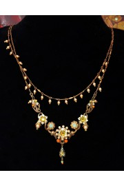 Michal Negrin Vintage Layered Necklace