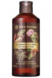 Yves Rocher Argan Rose Hammam Bath and Shower Gel 400ml / 13.5 fl.oz